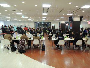 「第13回全国高等学校囲碁選抜大会」1日目男女団体戦結果